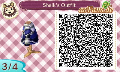 The Legend of Zelda - Ocarina of Time: Shiek's Outfit