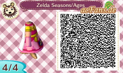 Zelda's outfit in Oracle of Seasons/Ages